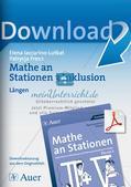 Mathe an Stationen - Inklusion: Längen Preview 1