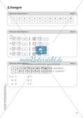Mathe an Stationen - Inklusion: Römische Zahlen Preview 11