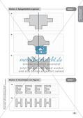 Mathe an Stationen - Inklusion: Spiegeln und Verschieben Preview 10