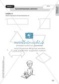 Mathe an Stationen - Inklusion: Spiegeln und Verschieben Preview 5