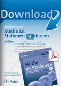Mathe an Stationen - Inklusion: Größen Preview 1