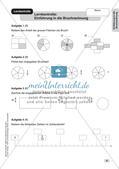 Mathe an Stationen - Inklusion: Einführung in die Bruchrechnung Preview 10