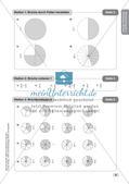 Mathe an Stationen - Inklusion: Einführung in die Bruchrechnung Preview 11