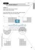 Mathe an Stationen - Inklusion: Einführung in die Bruchrechnung Preview 6