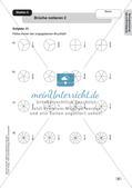Mathe an Stationen - Inklusion: Einführung in die Bruchrechnung Preview 7