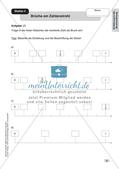 Mathe an Stationen - Inklusion: Einführung in die Bruchrechnung Preview 8