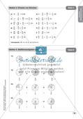 Mathe an Stationen - Inklusion: Mit Brüchen rechnen Preview 11