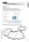 Mathe an Stationen - Inklusion: Mit Brüchen rechnen Preview 6