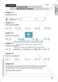 Mathe an Stationen - Inklusion: Mit Brüchen rechnen Preview 9