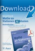 Mathe an Stationen - Inklusion: Dezimalbrüche Preview 1