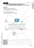 Mathe an Stationen - Inklusion: Winkel Preview 5