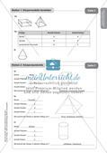 Mathe an Stationen - Inklusion: Körpereigenschaften und Körperberechnungen Preview 12