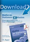 Mathe an Stationen - Inklusion: Körpereigenschaften und Körperberechnungen Preview 1