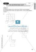 Mathe an Stationen - Inklusion: Körpereigenschaften und Körperberechnungen Preview 9