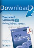 Mathe an Stationen - Inklusion: Terme und Gleichungen Preview 1