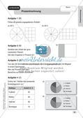 Mathe an Stationen - Inklusion: Prozentrechnung Preview 8