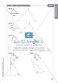 Mathe an Stationen - Inklusion: Winkel und Dreieckskonstruktionen Preview 10