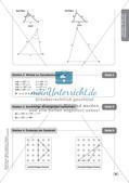 Mathe an Stationen - Inklusion: Winkel und Dreieckskonstruktionen Preview 11