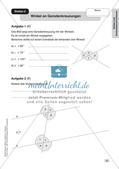 Mathe an Stationen - Inklusion: Winkel und Dreieckskonstruktionen Preview 6