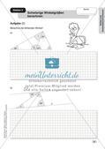 Mathe an Stationen - Inklusion: Winkel und Dreieckskonstruktionen Preview 7