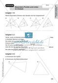 Mathe an Stationen - Inklusion: Besondere Punkte und Linien im Dreieck Preview 10