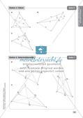 Mathe an Stationen - Inklusion: Besondere Punkte und Linien im Dreieck Preview 13