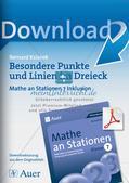 Mathe an Stationen - Inklusion: Besondere Punkte und Linien im Dreieck Preview 1