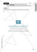Mathe an Stationen - Inklusion: Besondere Punkte und Linien im Dreieck Preview 6