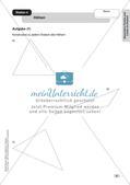 Mathe an Stationen - Inklusion: Besondere Punkte und Linien im Dreieck Preview 8