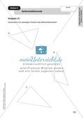 Mathe an Stationen - Inklusion: Besondere Punkte und Linien im Dreieck Preview 9