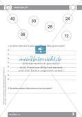 Mathematik auf dem Schulhof: Einmaleins und Muster/Parkette Preview 5