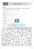 Mathe an Stationen: Halbschriftliche Addition (ZR bis 1000) Preview 6