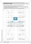 Rhythmische Übungen: Notenwerte Preview 5