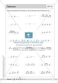 Rhythmische Übungen: Taktarten Preview 4