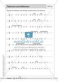 Rhythmische Übungen: Taktarten Preview 6