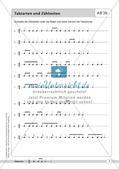 Rhythmische Übungen: Taktarten Preview 7