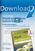 Physik an Stationen: Mechanik - Kraftumformungen Preview 1