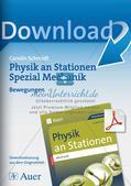Physik an Stationen: Mechanik - Bewegungen Preview 1