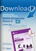 Mathe kooperativ Klasse 6: Leitidee Zahl Preview 1