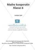Mathe kooperativ Klasse 6: Leitidee Zahl Preview 2
