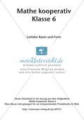 Mathe kooperativ Klasse 6: Leitidee Raum und Form Preview 2