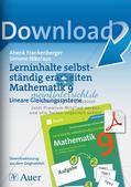 Lerninhalte selbstständig erarbeiten Thema Lineare Gleichungssysteme Preview 1