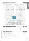 Mathe an Stationen - Inklusion: Quadratische Funktionen Preview 10