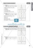 Mathe an Stationen - Inklusion: Quadratische Funktionen Preview 11
