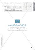 Mathe an Stationen - Inklusion: Quadratische Funktionen Preview 12