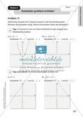Mathe an Stationen - Inklusion: Quadratische Funktionen Preview 4
