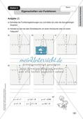 Mathe an Stationen - Inklusion: Quadratische Funktionen Preview 5