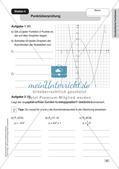 Mathe an Stationen - Inklusion: Quadratische Funktionen Preview 6