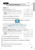 Mathe an Stationen - Inklusion: Quadratische Funktionen Preview 7