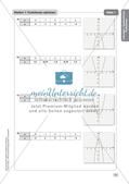 Mathe an Stationen - Inklusion: Quadratische Funktionen Preview 9